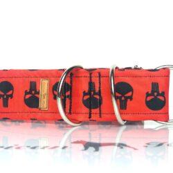 Punisher czarny półzacisk 5 cm