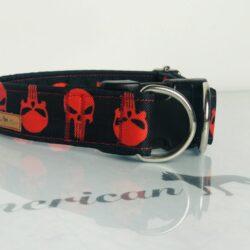 Punisher czerwony zatrzask z zabezpieczeniem 3 cm