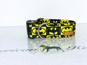 Batman Obroża na zatrzask 3 cm