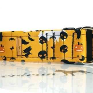 Halloween 2 obroża zatrzask z zabezpieczeniem 5 cm