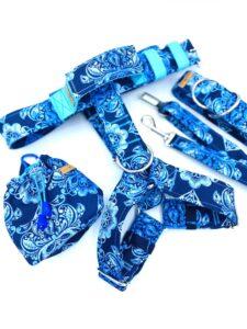 Błękitne ornamenty - zestaw