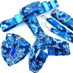 Błękitne ornamenty